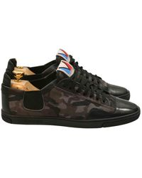 Louis Vuitton Cloth Low Trainers - Grey