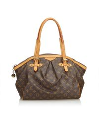Louis Vuitton - Tivoli Cloth Handbag - Lyst