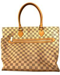 Louis Vuitton Saleya Cloth Handbag - White