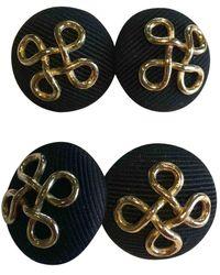 Chanel Parures en Coton Noir