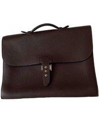 Hermès Sac À Dépèches Leather Bag - Multicolor