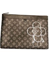 Louis Vuitton Bolsos en lona negro
