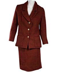 Chanel - Wool Suit Jacket - Lyst