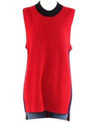 Burberry Cashmere Knitwear - Red