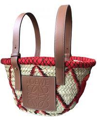 Loewe Basket Bag Shopper - Rot