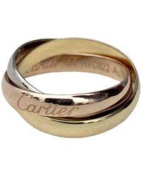 Cartier Trinity Gelbgold Ringe - Mehrfarbig