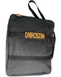 Moschino Cloth 48h Bag - Black