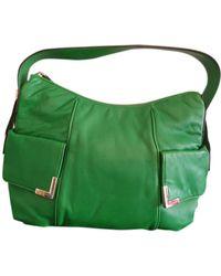 Michael Kors Leather Handbag - Green