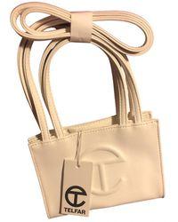 Telfar Patent Leather Mini Bag - White