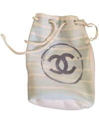 Chanel Multicolour Cotton Backpack