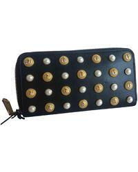 Balmain Leather Wallet - Black