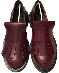Marni - Leather Flats - Lyst