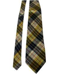Moschino Cravates en Soie Multicolore