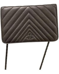 Chanel Wallet On Chain Leder Clutches - Mehrfarbig