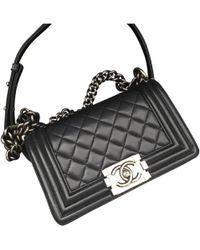 969841bda222 Chanel Boy - Women's Chanel Boy Bags - Lyst