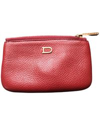 Delvaux Leather Purse - Red