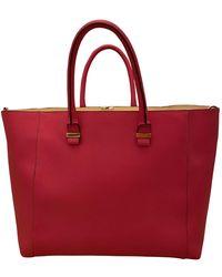 Victoria Beckham Liberty Leather Handbag - Pink