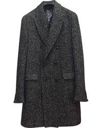 Etro Cappotti in lana multicolore