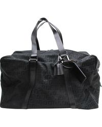 Fendi Black Cloth Travel Bag