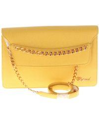 Chopard Leather Clutch Bag - Yellow