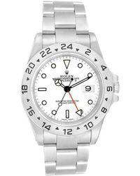 Rolex Explorer Ii 42mm White Steel Watches