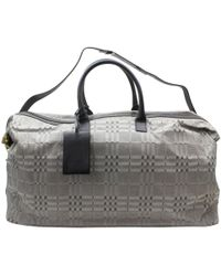 Burberry - Leather Travel Bag - Lyst