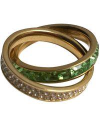 Michael Kors Green Metal Rings