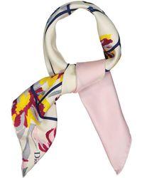 Dior Foulards en Soie Multicolore