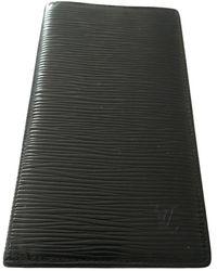 Louis Vuitton Leder Petite Maroquinerie - Schwarz