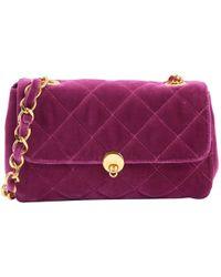 Anna Sui - Samt Handtaschen - Lyst