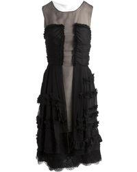 Dolce & Gabbana Black Silk