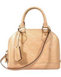 Louis Vuitton - Alma Lackleder Handtaschen - Lyst