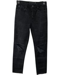 Alexander Wang Black Cotton Jeans