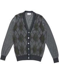 Hermès - Grey Wool Knitwear & Sweatshirts - Lyst