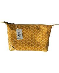 Goyard Cloth Small Bag - Yellow