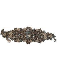Jenny Packham Silver Metal Bracelet - Metallic