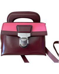 Acne Studios Leather Handbag - Multicolor