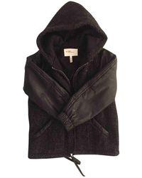 Étoile Isabel Marant Cappotto in lana nero