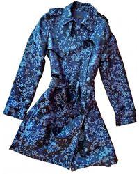 JOSEPH Trench Coat - Blue
