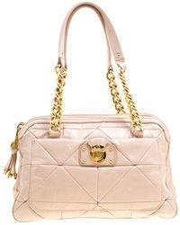 Marc Jacobs - Pink Leather Handbag - Lyst