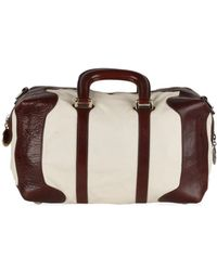 Fendi White Leather Handbag