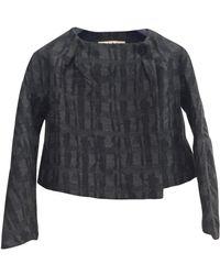 Marni - Anthracite Wool Jacket - Lyst