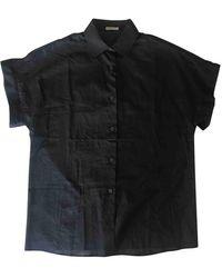 Bottega Veneta Black Cotton Top