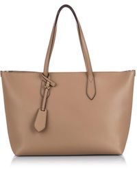 Burberry - Brown Leather Handbag - Lyst