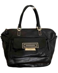 Anya Hindmarch Leather Handbag - Black