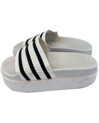 adidas Chanclas Adilette - Blanco