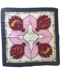 Céline - Pre-owned Silk Handkerchief - Lyst