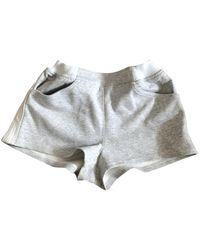 Chanel Grey Shorts
