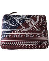 Hermès Silk Travel Bag - Multicolor