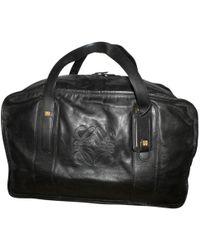 Loewe - Leather 48h Bag - Lyst